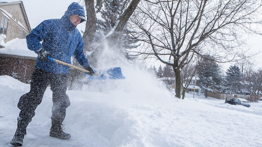 Shoveling Snow: How to Protect Your Back