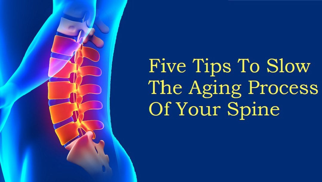 Five Ways to Slow the Aging Process of the Spine