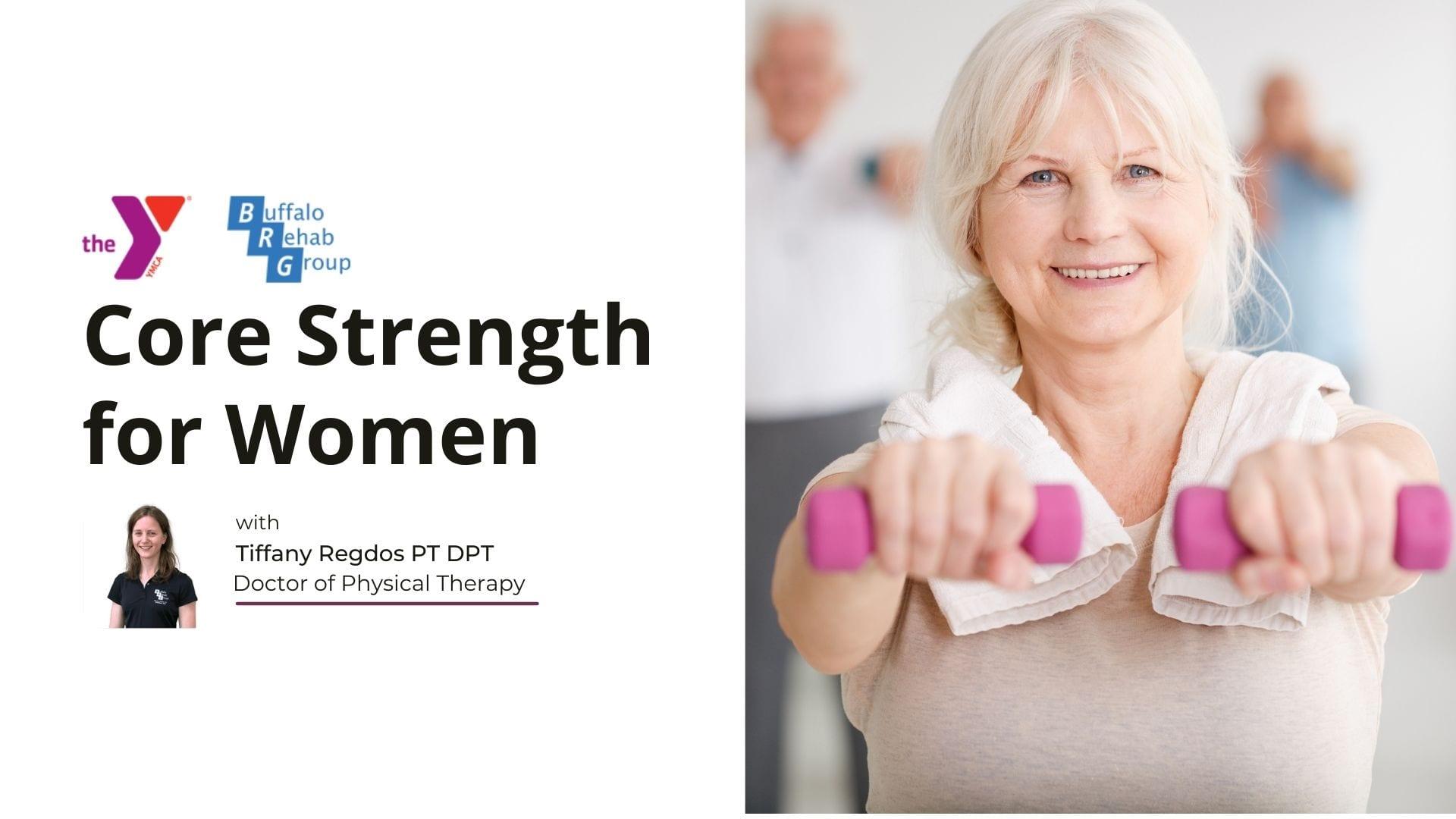 Core strength for women class