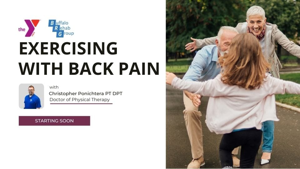 exercising with back pain