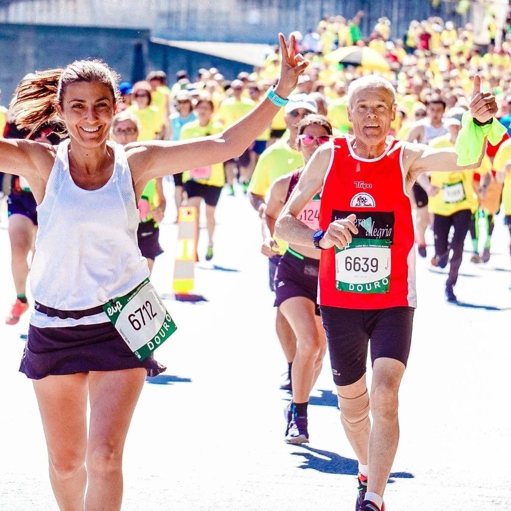runners finishing a race injury free