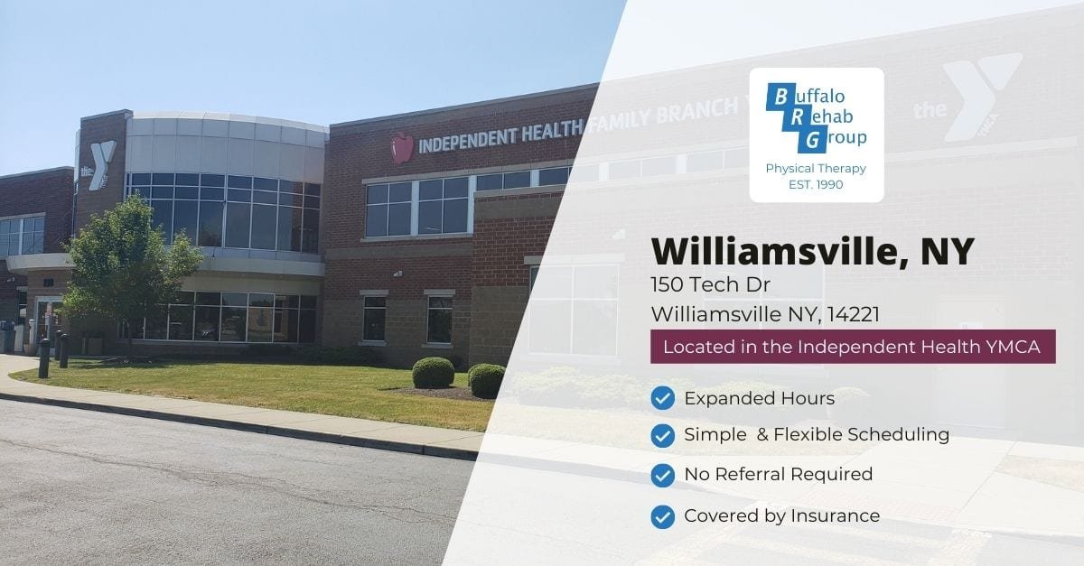 Social image for Williamsville Physical Therapy Location